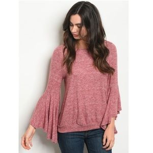 Tops - NEW! Bell Sleeve Top